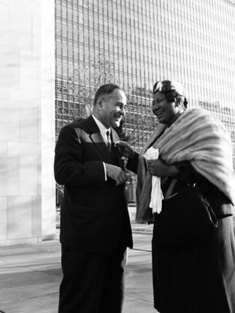 Mahalia Jackson - 1959 by Moneta Sleet Jr.