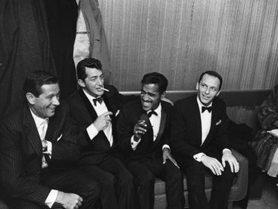 Sammy Davis Jr., Rat Pack - 1960 by Moneta Sleet Jr.
