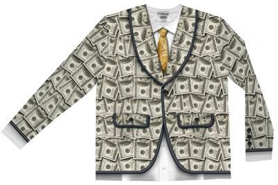 Money Suit Costume Tee