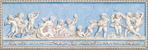 Russian fresco III by Monica Ibanez