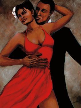 Fantasy in Red by Monica Stewart