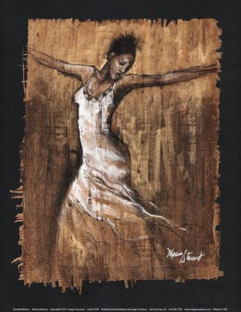 Graceful Motion I by Monica Stewart