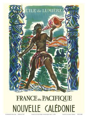 France du Pacifique (France in the Pacific) - New Caledonia -The Island of Light by Monique Cras