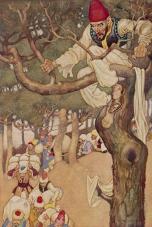 Ali Baba Counted Forty of Them from His Vantage Point up a Tree