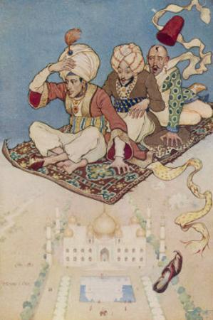 The Magic Carpet Favoured Transport System of the Arabian Nights