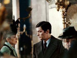 Monsieur Klein by Joseph Losey with Alain Delon, 1976 (photo)