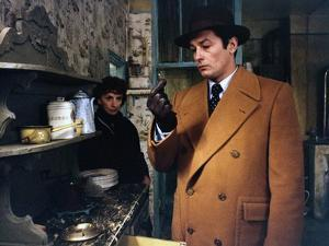 Monsieur Klein by Joseph Losey with Suzanne Flon and Alain Delon, 1976 (photo)