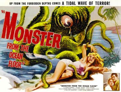 Monster From the Ocean Floor, Anne Kimbell, Stuart Wade, 1954