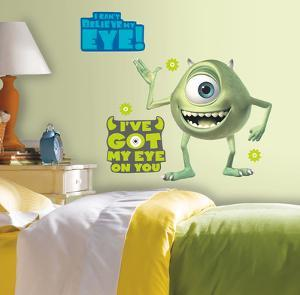 Monsters Inc Giant Mike Wazowski Peel & Stick Wall Decals