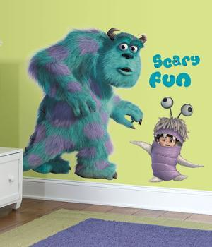 Monsters Inc Giant Sully & Boo Peel & Stick Wall Decals