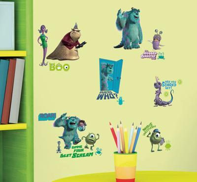 Monsters Inc Peel & Stick Wall Decals