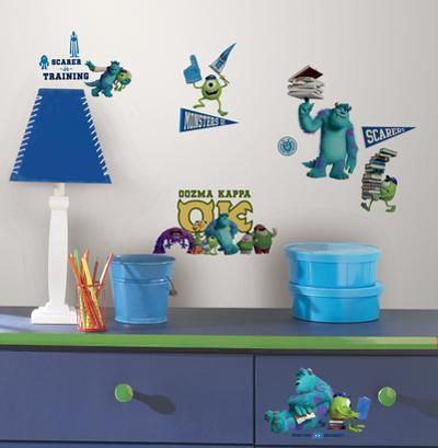 Monsters University Peel & Stick Wall Decals