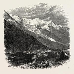 Mont Blanc (The Loftiest Peak in the Alps). Mont Blanc or Monte Bianco (Italian)