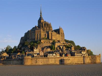 Mont St.Michel at Dusk, La Manche Region, Basse-Normandie, France by I Vanderharst