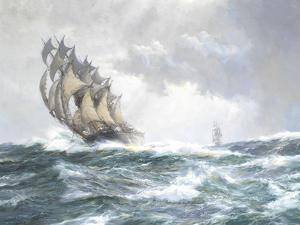 Flying Spume - The Adelaide by Montague Dawson