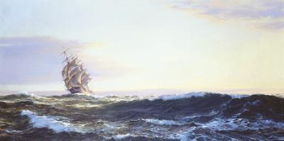 Golden Dawn by Montague Dawson