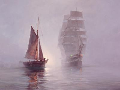 Night Mists by Montague Dawson