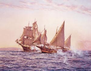 The Corsair by Montague Dawson