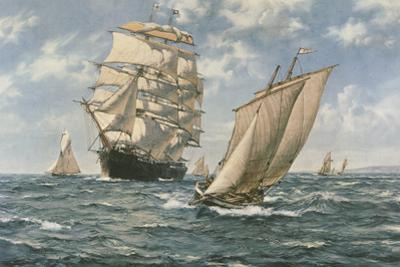 The Homecoming by Montague Dawson