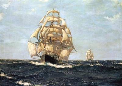 The Pride Of The Ocean - 'Cutty Sark' by Montague Dawson