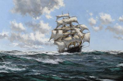 The Sea's Highway - The Australian Clipper Beltana by Montague Dawson