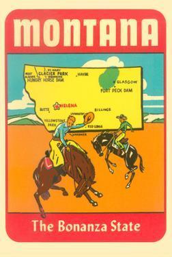 Montana, the Bonanza State