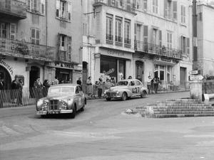 Monte Carlo Rally, 1954
