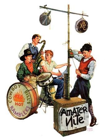 """Amateur Night,""January 11, 1936"