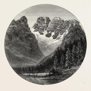 Monte Cristallo, the Alps, Italy, 19th Century