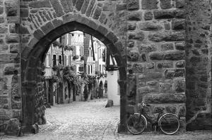 Bicycle of Riquewihr by Monte Nagler