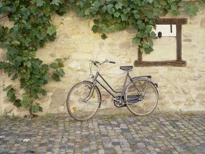 Bicycle, Turckheim, France 99 by Monte Nagler