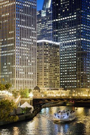 Chicago at Night #2, Chicago '07 - Color