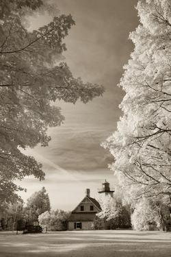 Eagle Bluff Lighthouse #2, Door County, Wisconsin '12 by Monte Nagler
