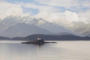 Eldred Rock Lighthouse, Alaska '09 by Monte Nagler