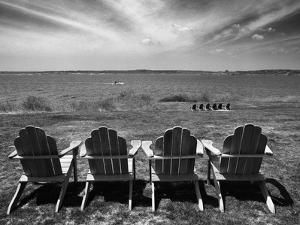 Four Chairs, Newport, Rhode Island 03 by Monte Nagler