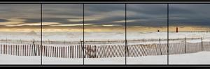 Grand Haven Lighthouse Panorama, Grand Haven, Michigan '14 by Monte Nagler