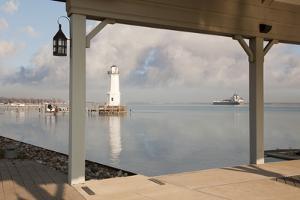 Grosse Ile Lighthouse #1, Detroit, Michigan '09 by Monte Nagler