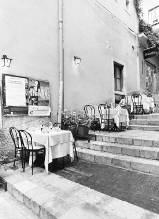 Tables on the Steps, Taormina
