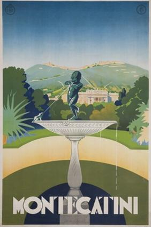 Montecatini Travel Poster