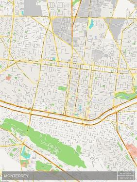 Monterrey, Mexico Map