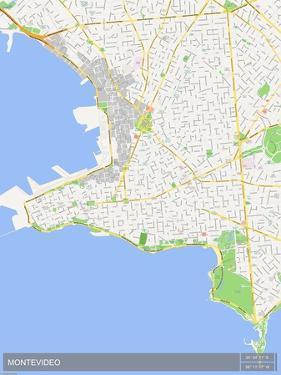 Montevideo, Uruguay Map