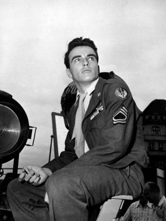 "Montgomery Clift. ""From Here To Eternity"" 1953, Directed by Fred Zinnemann"
