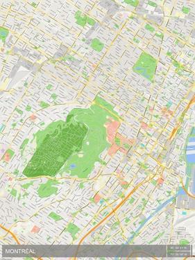 Montreal, Canada Map