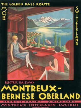 Montreux, Bernese Oberland Railway, Switzerland, c.1925