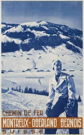 Montreux Oberland Bernois Poster