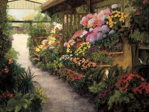 Spring Flower Market by Montserrat Masdeu
