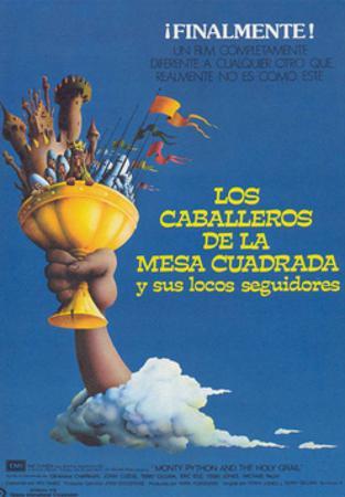 Monty Python and the Holy Grail, (Los Caballeros De La Mesa Cuadrada Y Sus Locos Seguidores), 1975