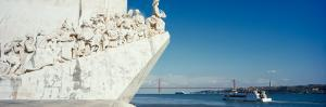 Monument at the Riverbank, Monument to the Discoverers, Tagus River, Belem, Lisbon, Portugal