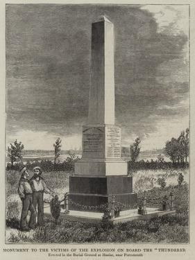 Monument to the Victims of the Explosion on Board the Thunderer