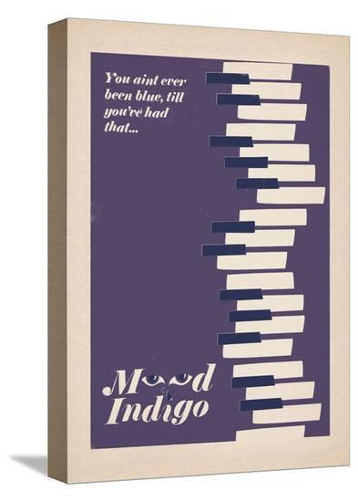 Mood Indigo-Anthony Peters-Stretched Canvas